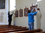 Malowanie kościoła - fotorelacja
